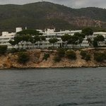 view of PMar from the sea!