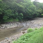 River that feeds the Onsen
