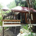 The tropical beach bungalow