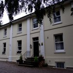 front view of Hilden Lodge