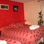 Habitación triple (matrimonial + cama)