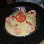 Extra-large shrimps. Yum!