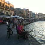 Old harbour in Chania. Very nice place with good food