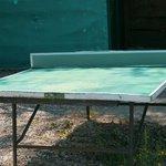 Voici l'état des tables de ping-pong...