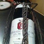 Très bon vin conseillé par le sommelier