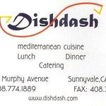 DishDash Business Card