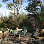 Crooked Oak Mountain Inn garden