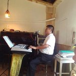 Jazz pianist at The Black Bobby