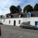 Row of traditional houses in Plockton