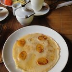 Marvellous banana pancake at Cafe Garam