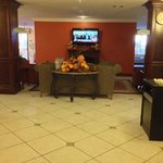 Lobby of the Best Western, Isabelle Court, Galliano LA