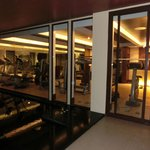 View of Hotel Gym - Small but new lean machines