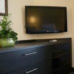 37' flat screen TV in Suites
