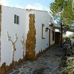 Fachada y decoracion casa Pinea