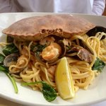 Seafood Linguine - lovely!