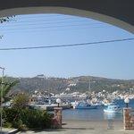 panorama dall' ingresso dell' hotel