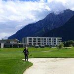 Hotel direkt am Golfplatz
