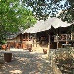 Main lodge at Lionsrock