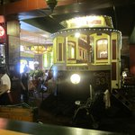 Dining options in the Old Spaghetti Factory