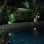 Pool am Abend