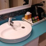 Sink and Coffee station