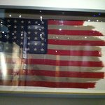 The flag from the famous picture