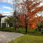 Fall colours are beatiful in Magog