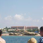 resort from the ocean