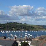 sweeping views across Falmouth