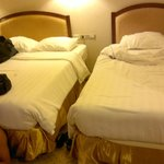 the two main beds in our room