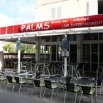 Palms Bar (just before opening time)