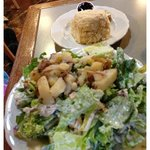 Half-Portion Country Salad (sorry it's out of focus!)