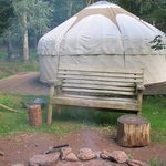 Valley Yurt & Private Fire Pit