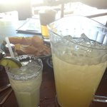 Pitcher of house margaritas
