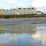 view of the hotel from Braye Beach