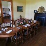 dining room; bedroom adjoining