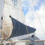 opening the sails
