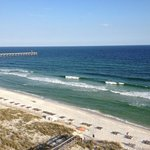 View of Beach & Pensacola Pier From Room