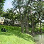 Relax on the banks of the Cypress Creek
