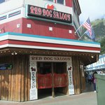 Can't miss the Red Dog Saloon