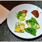 Pizza La Mansion, Pollo frito extra crujiente y Beef Tataki