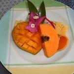 Früchte zum Frühstück - Variante 2