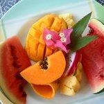 Früchte zum Frühstück - Variante 3