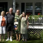 Great hosts--Dick and Sally
