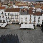 Vista Panorámica de la Plaza Mayor