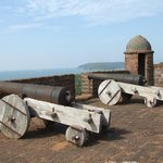 Cannons at fort