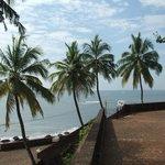 Veiw from fort