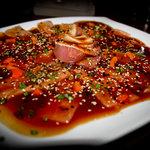 Tiradito de Tuno Tao... Alucinante!