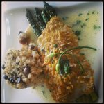 Plantain Crusted Grouper