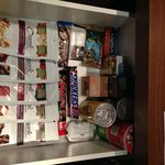 in-room snack drawer